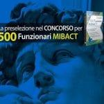 Prove preselettive concorso MIBACT: si inizia il 26 luglio