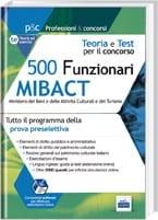 prova preselettiva del concorso 500 MIBACT