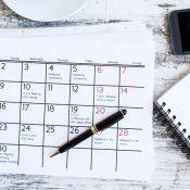Calendario scadenze concorsi