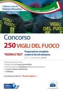 concorso 250 vigili del fuoco