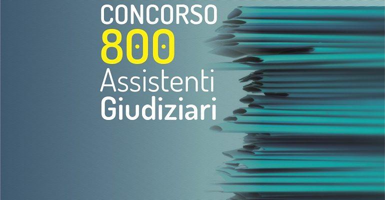 Concorso 800 Assistenti Giudiziari: pubblicato il diario della prova orale