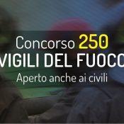 Concorso 250 Vigili del Fuoco: prova orale dal 7 febbraio