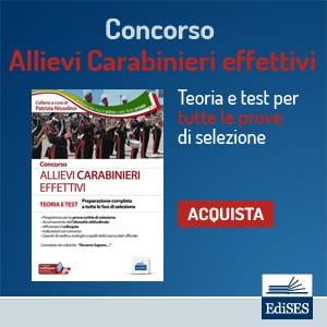 concorso per allievi carabinieri