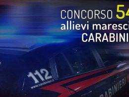 Concorso Allievi Marescialli Carabinieri: pubblicato il bando per 546 unità