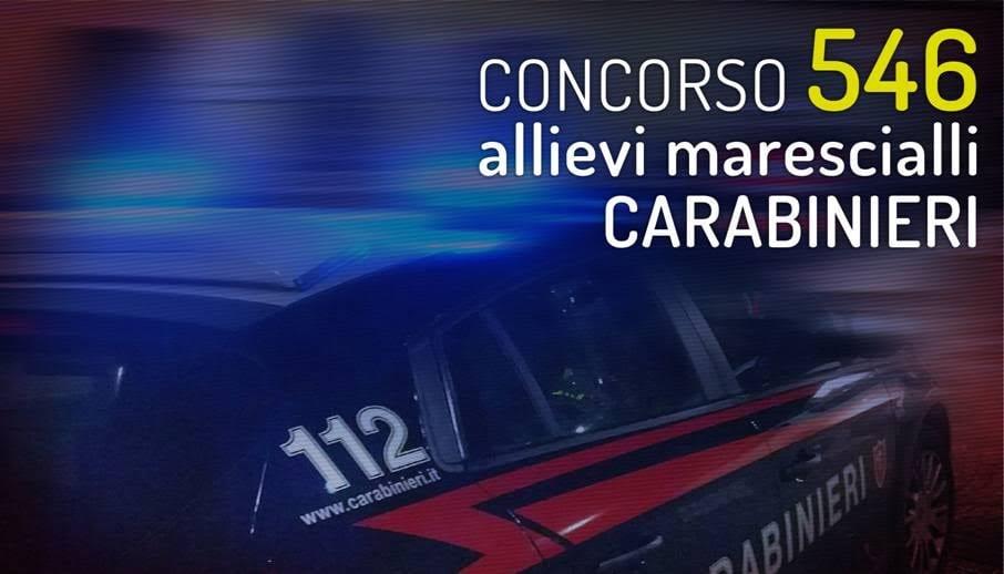 concorso allievi marescialli carabinieri