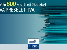 Concorso per 800 Assistenti Giudiziari: rinvio pubblicazione date delle prove