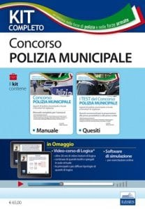 kit polizia municipale