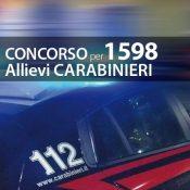Concorso 1598 Allievi Carabinieri: ulteriore aumento dei posti da 2918 a 2950