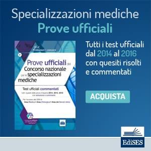 prove ufficiali specializzazioni mediche
