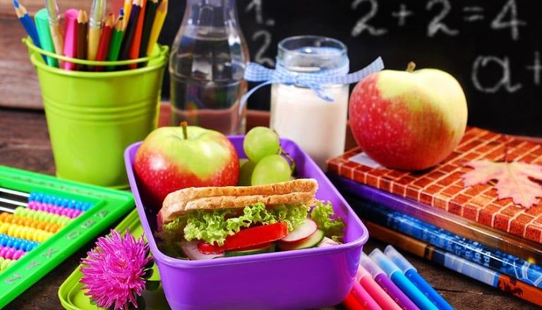 alimentazione sana a scuola