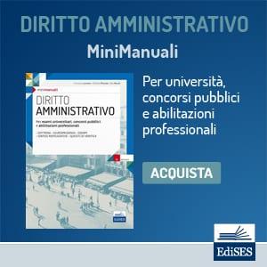 manuale diritto amministrativo