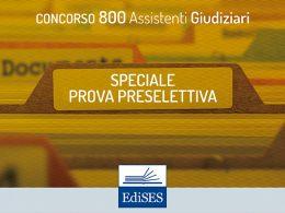 Concorso per 800 Assistenti Giudiziari: pubblicata la banca dati ufficiale