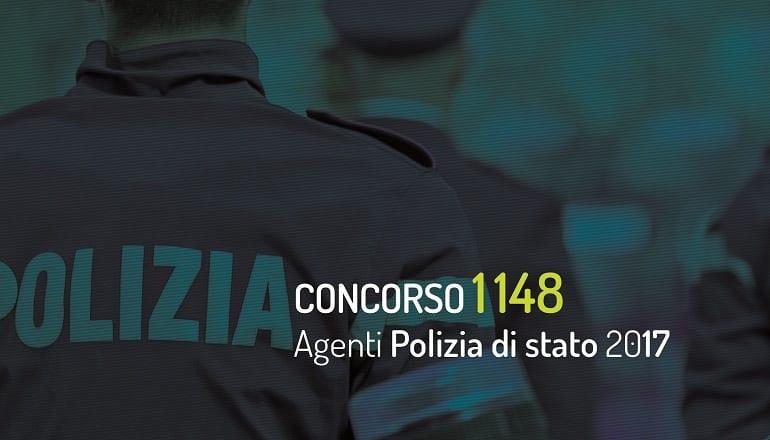 prova scritta concorso 1148 agenti polizia di stato