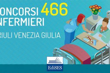 Maxi concorso per 466 Infermieri in Friuli Venezia Giulia