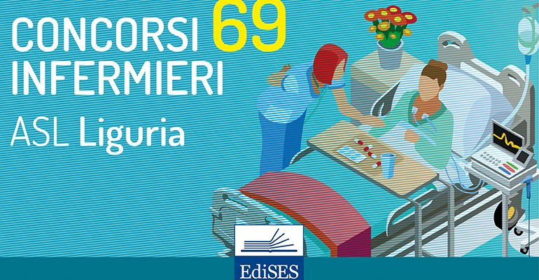 Concorsi infermieri Liguria: 3 bandi per 69 posti a Savona, Genova e Chiavari