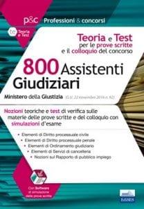 Manuale per prove scritte e orali del concorso per 800 assistenti giudiziari