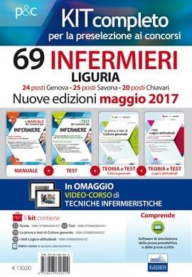 concorso 69 infermieri ASL Liguria