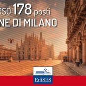 Concorsi 178 posti al Comune di Milano: il diario delle prove preselettive