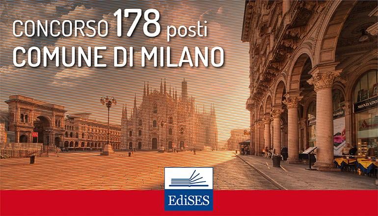 concorso 178 posti comune di Milano