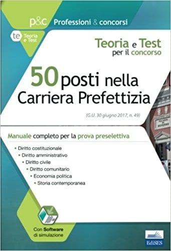 manuale concorso carriera prefettizia