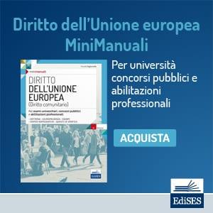 manuale diritto unione europea
