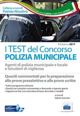 I test per il concorso in polizia municipale
