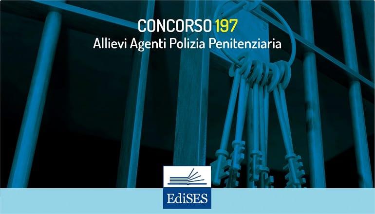 concorso 197 allievi agenti polizia penitenziaria