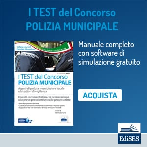test polizia municipale