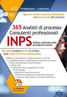 concorso inps manuale per la prova tecnico professionale