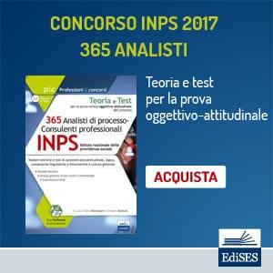 concorso inps 2017