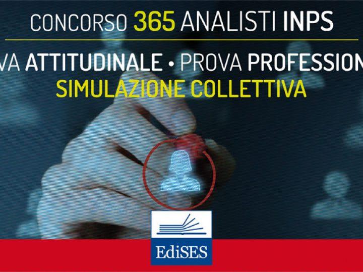Le prove scritte del concorso per 365 Analisti INPS: esercitazioni collettive gratuite