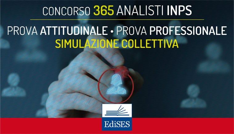 concorso 365 analisti inps