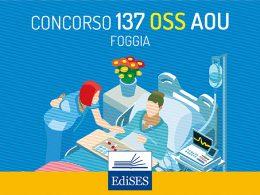 Concorso per 137 OSS presso l'AOU di Foggia: pubblicato il bando