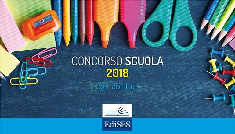 concorso scuola 2018