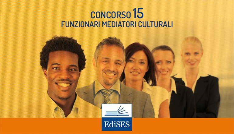 concorso per 15 funzionari mediatori culturali