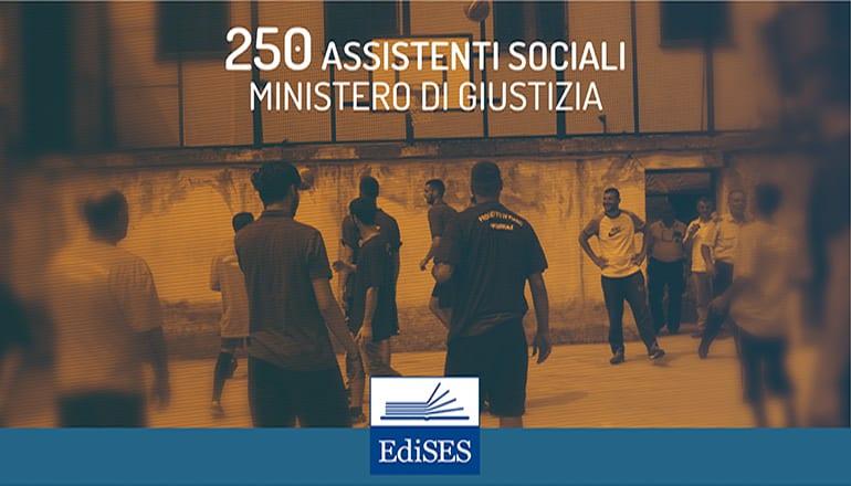concorso 250 assistenti sociali ministero giustizia