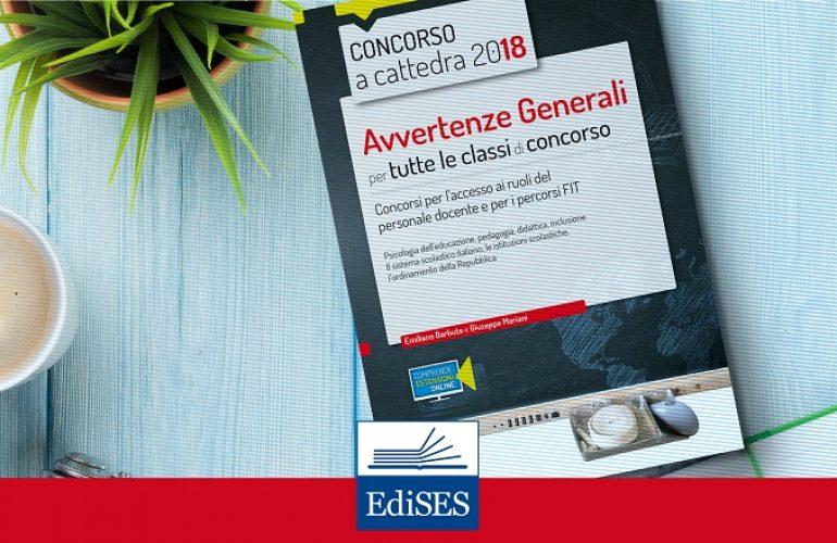 Concorso scuola 2018 – Cosa sono le Avvertenze Generali e come studiarle
