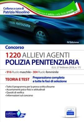 concorso 1220 agenti polizia penitenziaria