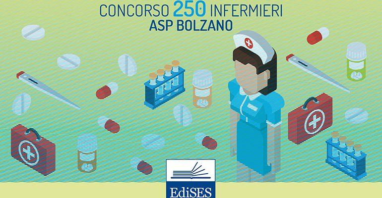 Concorso per 250 Infermieri presso l'ASP di Bolzano: pubblicato il bando
