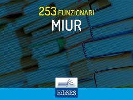Concorso per 253 Funzionari al MIUR: preselezione il 27 settembre