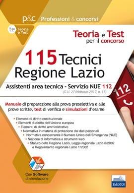 concorso-115-tecnici-regione-lazio-assistenti-area-tecnica-per-il-servizio-nue-112