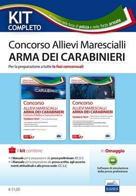 kit marescialli carabinieri