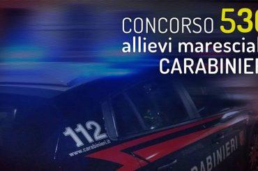 Concorso per 536 Allievi Marescialli dell'Arma dei Carabinieri: pubblicato il bando