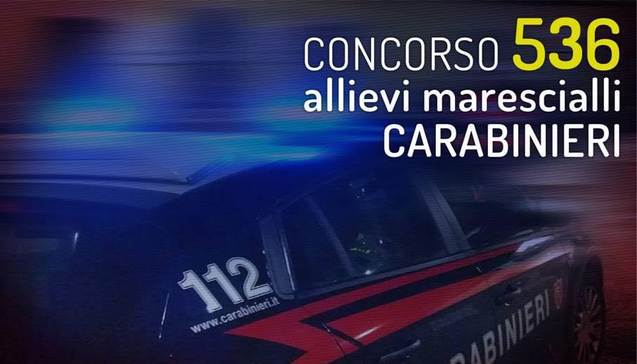 536 allievi marescialli carabinieri