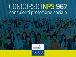 Concorso 967 posti INPS: il calendario delle prove