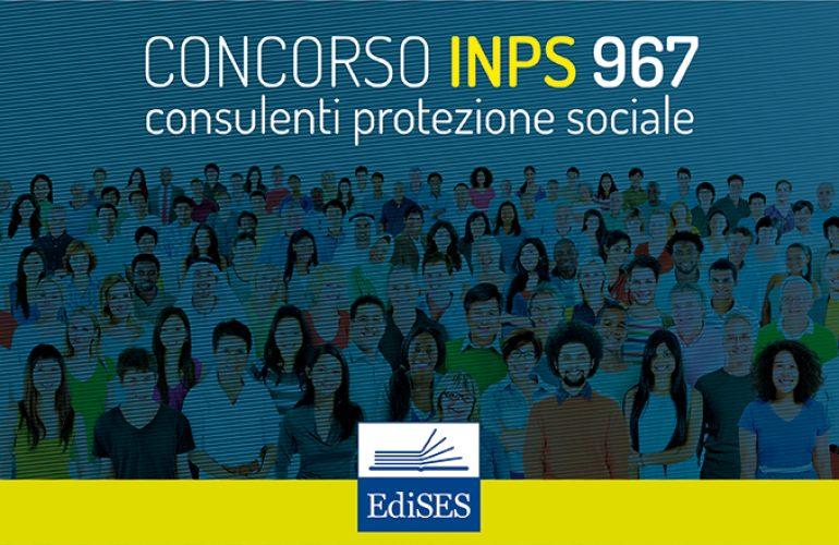 Concorso INPS per 967 consulenti della protezione sociale