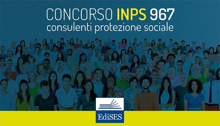 concorso inps 967 consulenti protezione sociale