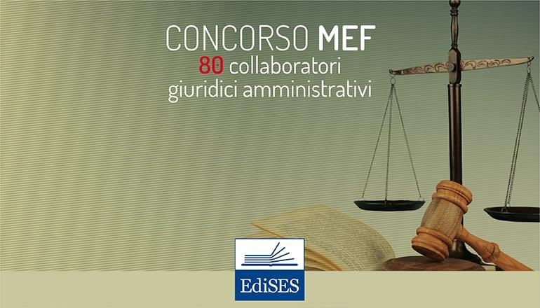 Concorsi MEF 2018