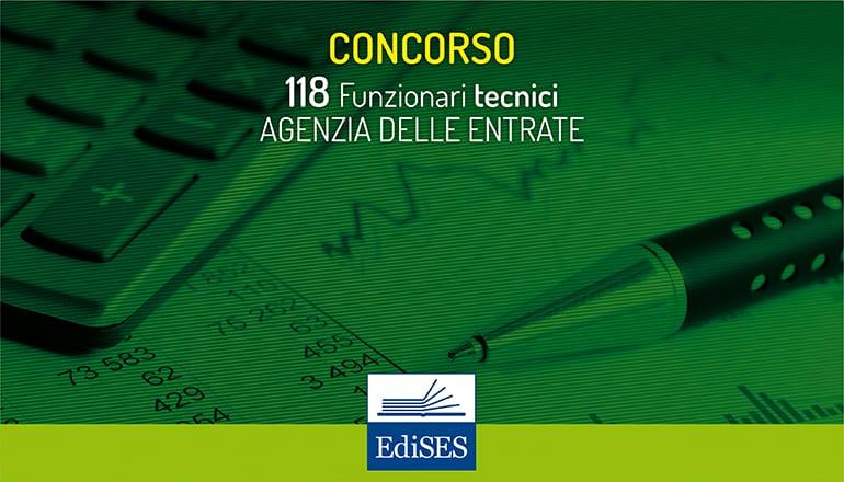 concorso 118 funzionari tecnici agenzia delle entrate