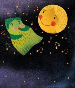 Dettaglio della magnifica illustrazione di Anna Godeassi